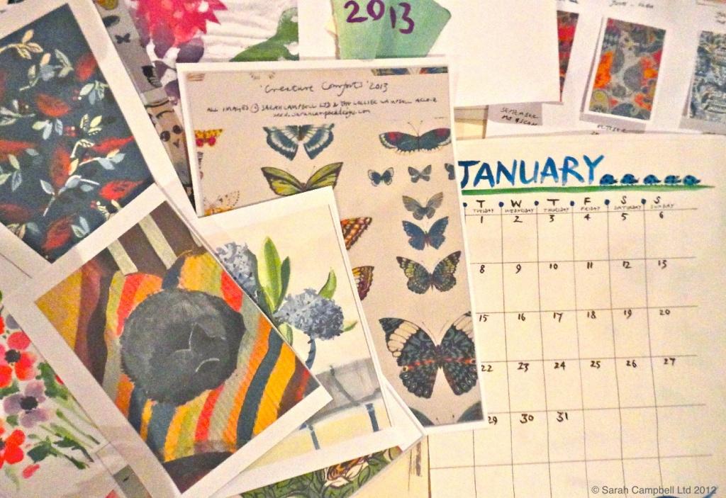 Calendar Work In Progress