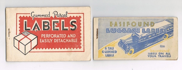 Old Luggage Labels