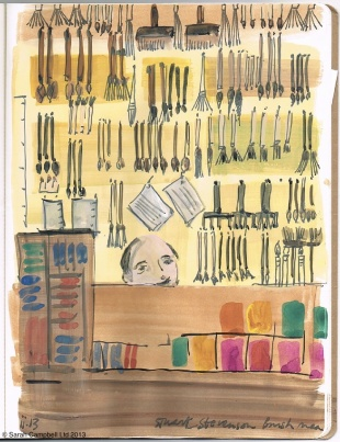 Brush Shop