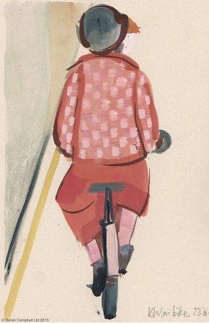 viv on bike