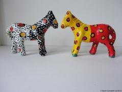 spotty horses