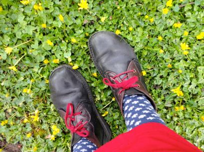 sarah's feet