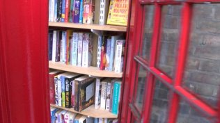 telephone box library