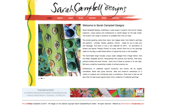 sarah campbell website