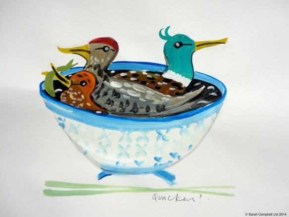 duck soup painting