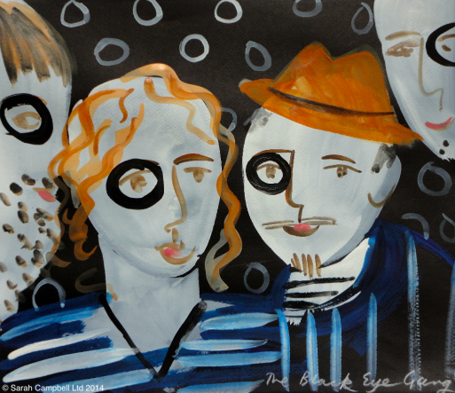 black eye gang
