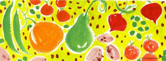 painted veg
