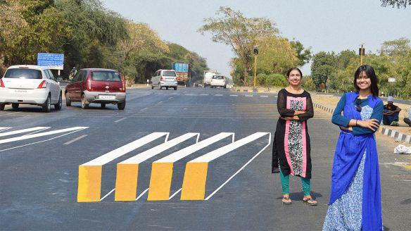 3d zebra crossing india