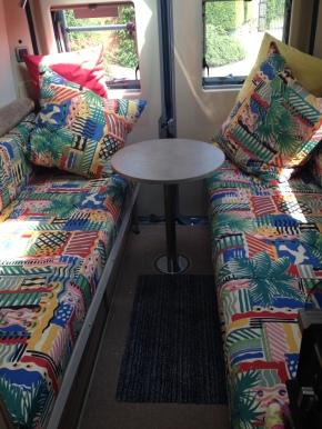 campervan cote d'azure fabric