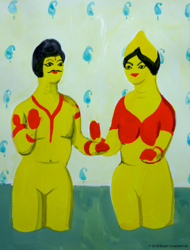 indian yellow couple