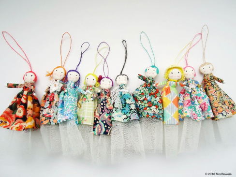 hand made liberty fairies