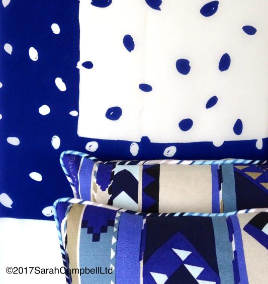 indigo-spot-scarf-and-cushions