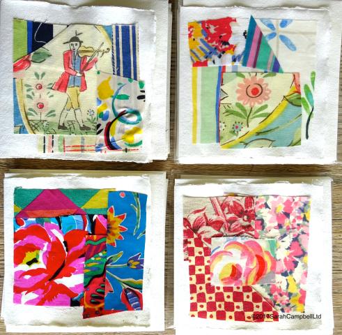 4 handmade cards