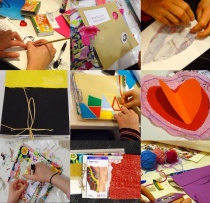 sketchbook workshops collage