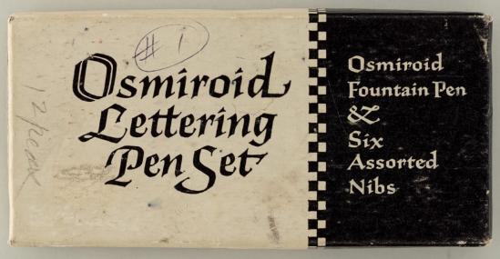 Osmiroid pen set