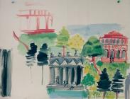Central park sketch 2