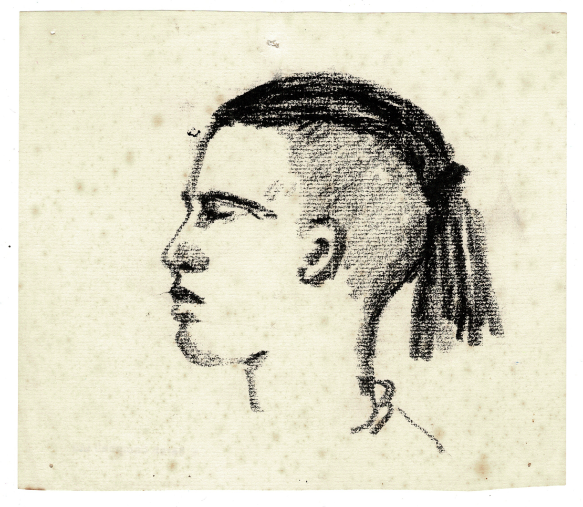 drawing of Louis, SAC