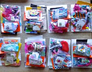 bags of scraps