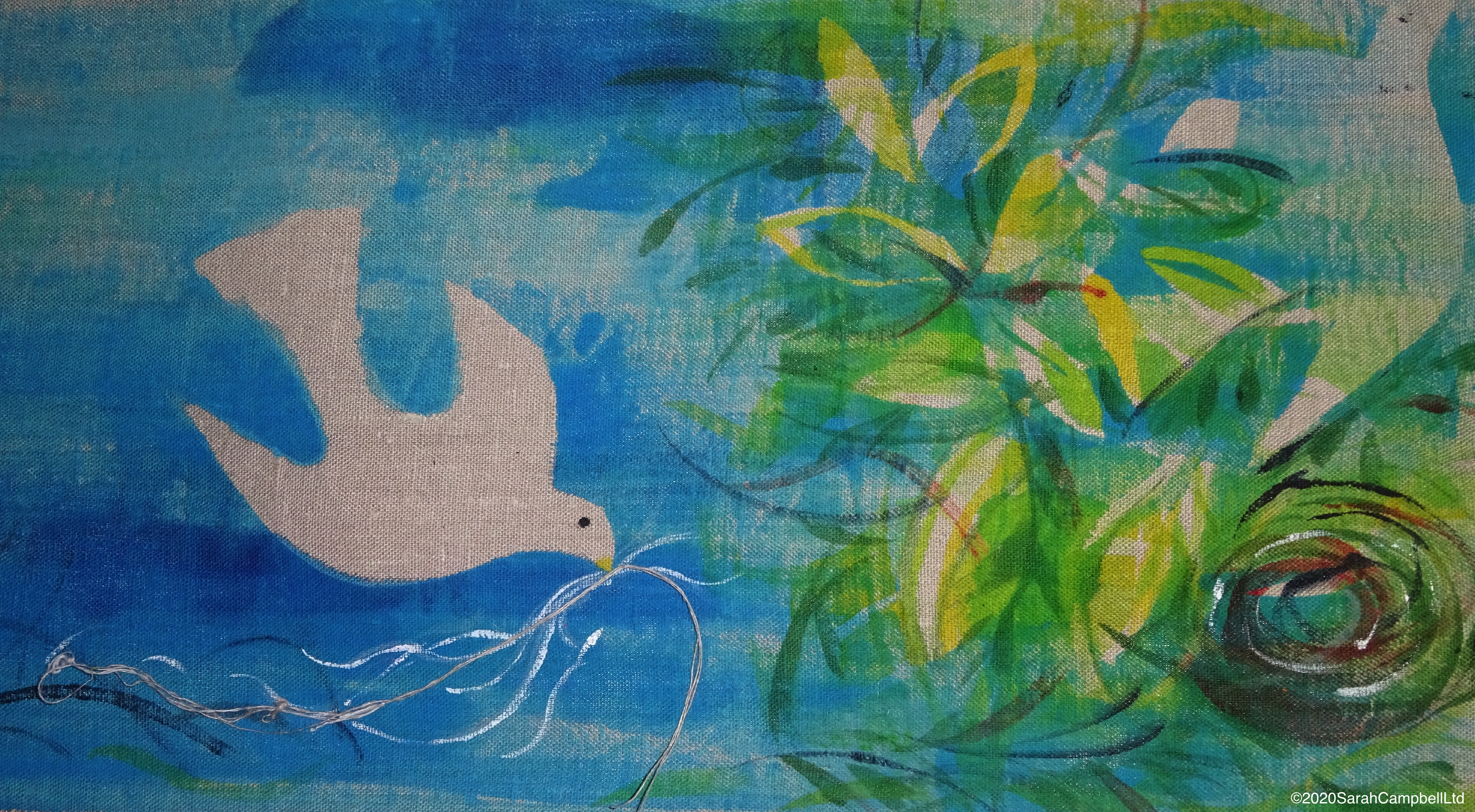 bird and wisp